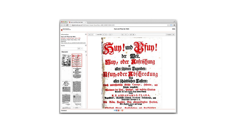 The Austrian National Library Google Books open-source image