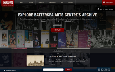 Battersea Arts Centre Digital Archive powered by Omeka