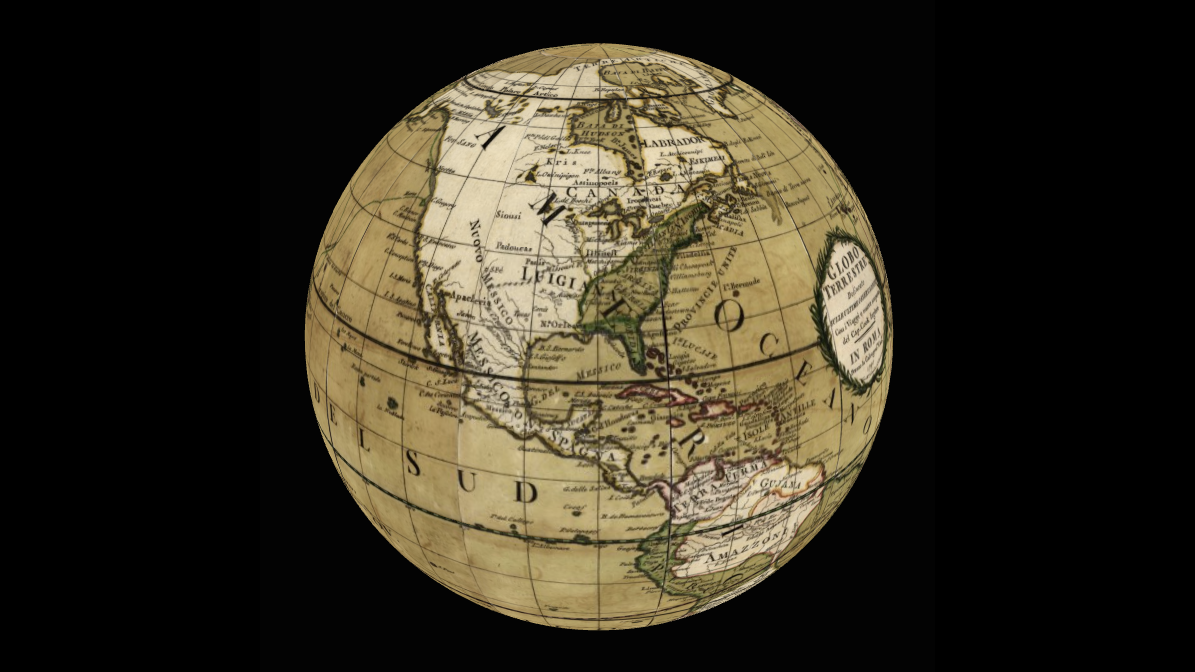 Virtual 3d globe for your website