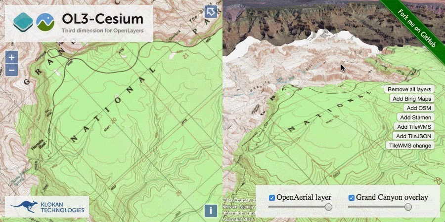 OL3-Cesium: Third dimension for OpenLayers – MapTiler News