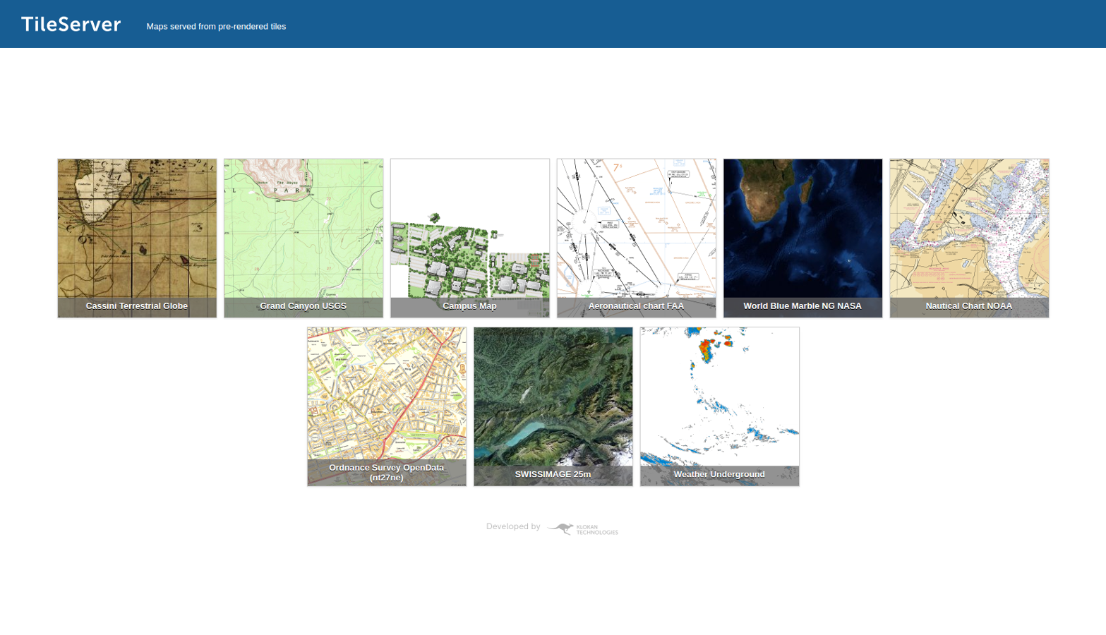 TileServer: an open-source tool to publish maps online
