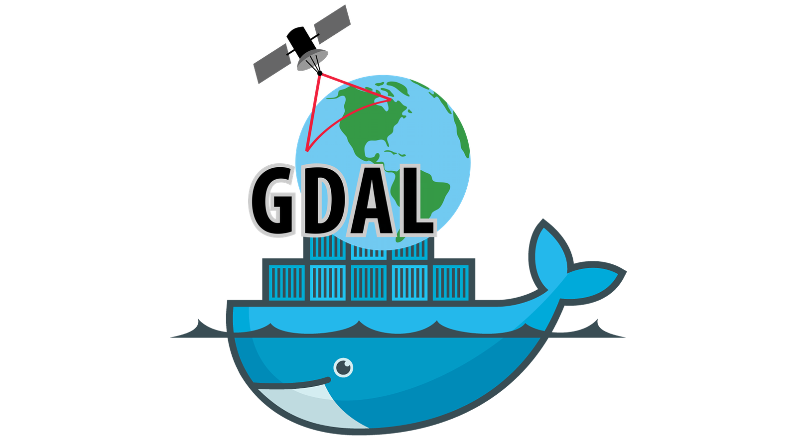 GDAL in Docker - install & run with a single command