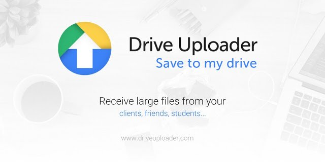 how to upload large files to google drive