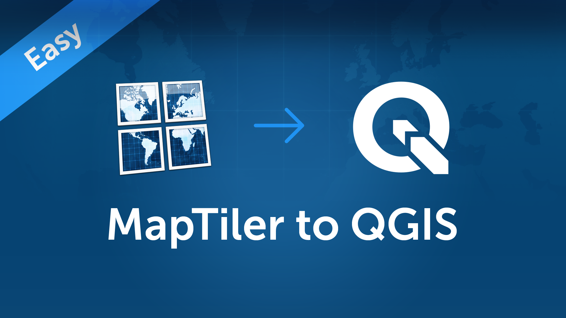 Map service for QGIS3 without a server