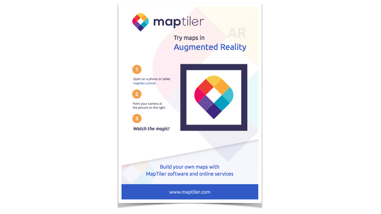 Maps in Augmented Reality with JavaScript – MapTiler News