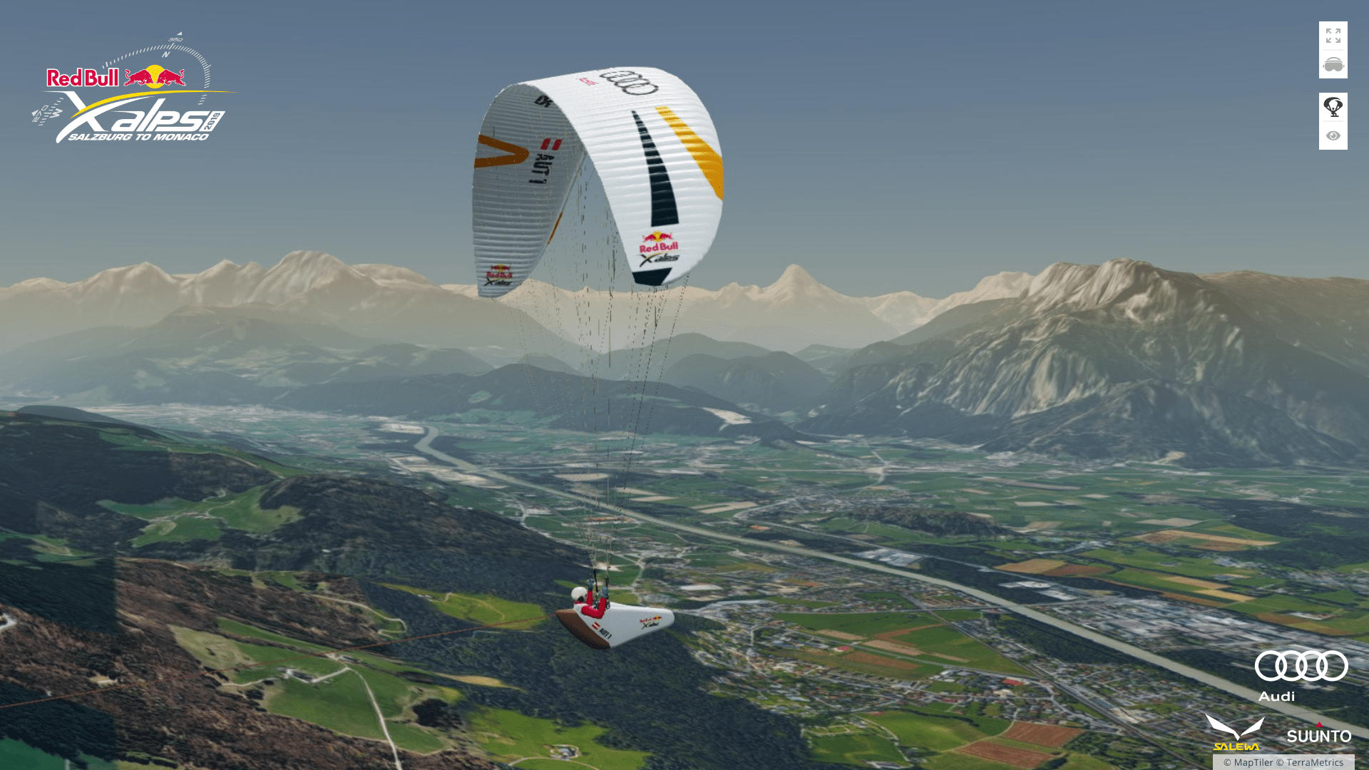 3D maps for Red Bull X-Alps 2019 – MapTiler News